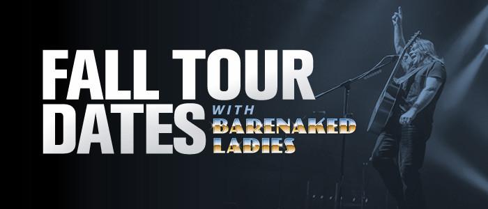 Alan Doyle on tour with Barenaked Ladies!