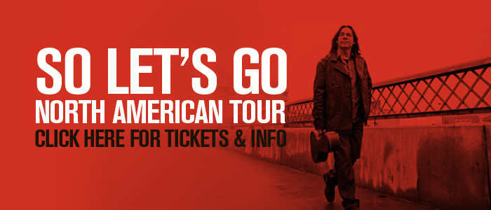 Alan Doyle on tour!