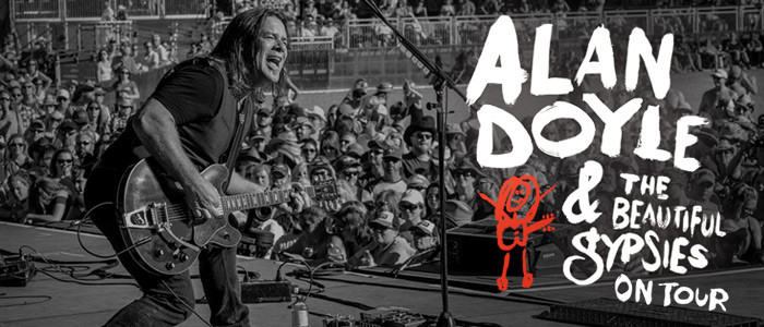 Alan Doyle tour dates