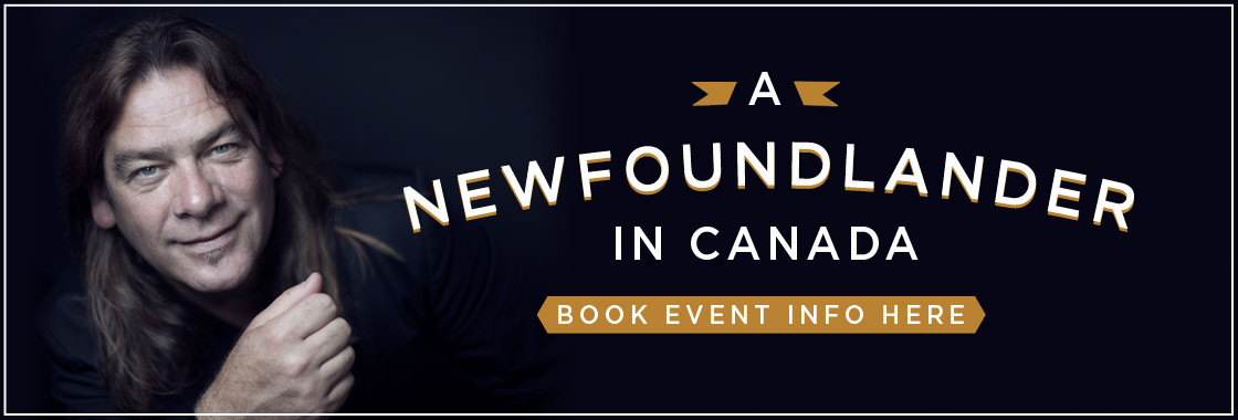 Alan Doyle 'A Newfoundlander in Canada' book events available here!