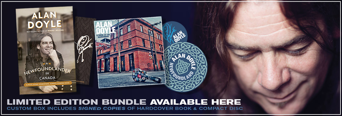 Alan Doyle limited edition box set available here