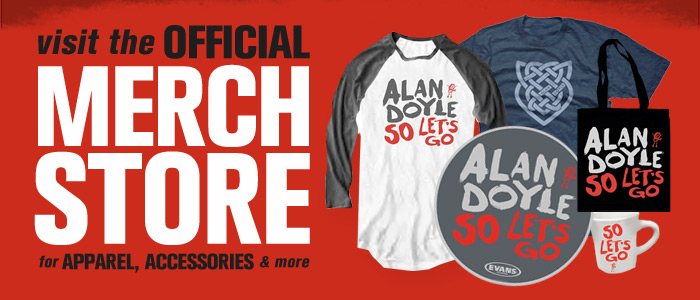 Alan Doyle official merchandise store