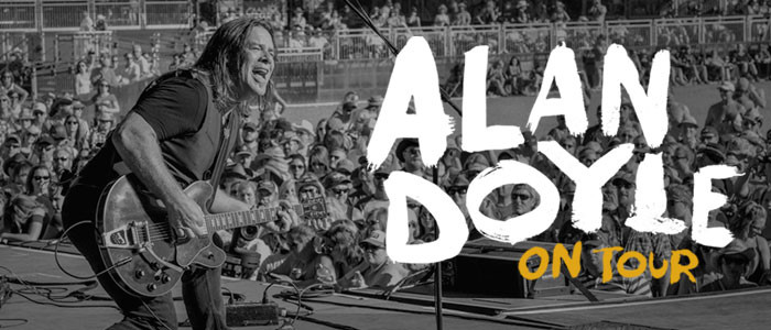 Alan Doyle tour dates and tickets available here
